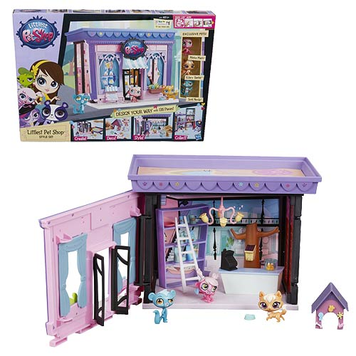 Littlest Pet Shop Style Set Playset