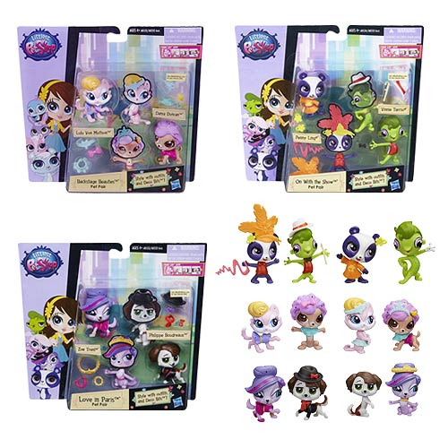 Littlest Pet Shop Pairs and Fashions Wave 1 Case