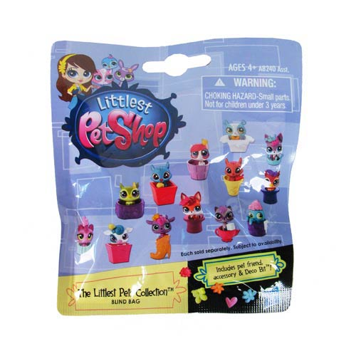 Littlest Pet Shop Mystery Pets Blind Bags Wave 1 6-Pack