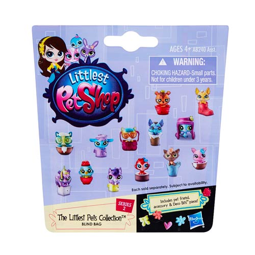 Littlest Pet Shop Mystery Pets Blind Bags Wave 2 6-Pack