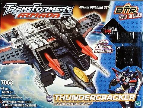 BTR Thundercracker w/Zapmaster