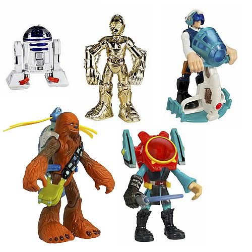 Star Wars Playskool Jedi Force Figure Assortment 4