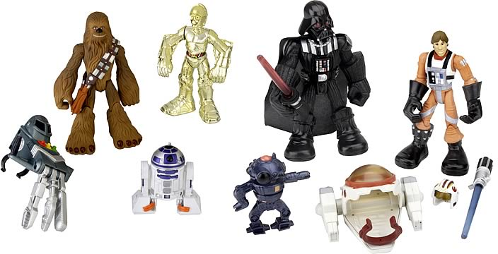 Star Wars Playskool Jedi Force Figure Assortment 1
