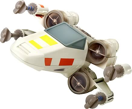 Star Wars Playskool Jedi Force X-Wing Fighter