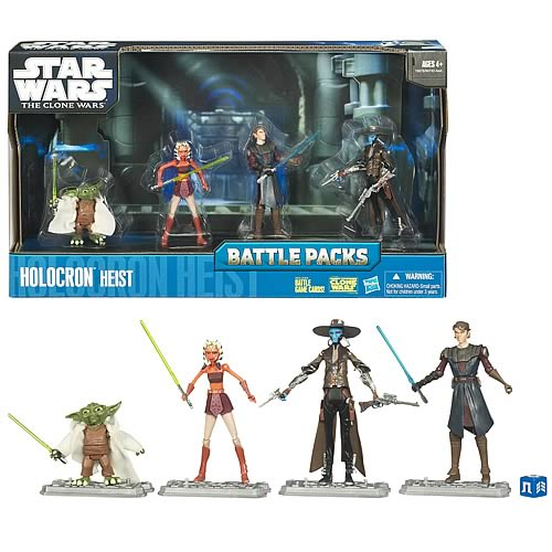 Star Wars Holocron Heist with Cad Bane Battle Pack