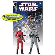 EE Star Wars Exclusive Baron Fel and Ysanne Isard Figures