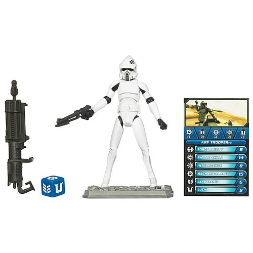 Star Wars Clone Wars White ARF Trooper Action Figure