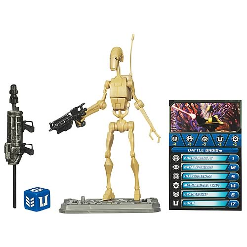 Star Wars Clone Wars Battle Droid Action Figure
