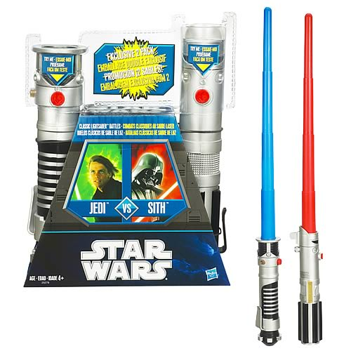 Star Wars Red Sith and Blue Jedi Lightsaber 2-Pack