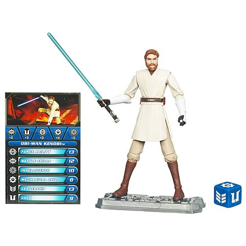 Star Wars Clone Wars Obi-Wan Kenobi S3 Action Figure