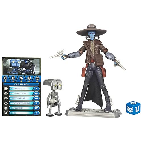 Star Wars Clone Wars Cad Bane and Todo 360 Action Figure