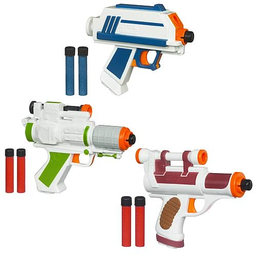 Star Wars Action Blasters Wave 1 Revision 1