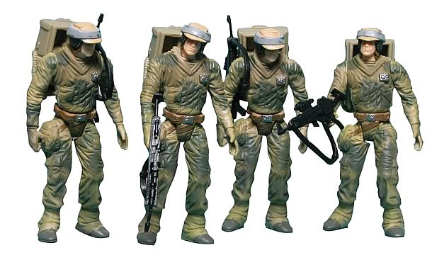 Star Wars Endor Soldier Troop Builder Action Figures