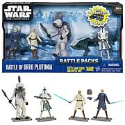 Star Wars Clone Wars Orto Plutonia Figures Battle Pack