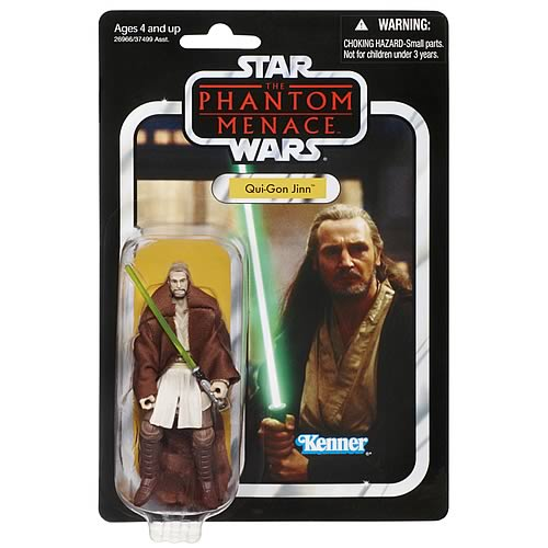 Star Wars Qui-Gon Jinn Vintage Action Figure