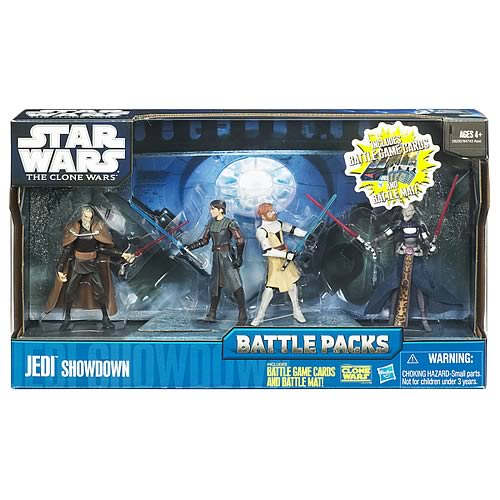 Star Wars Clone Wars Jedi Showdown Battle Pack