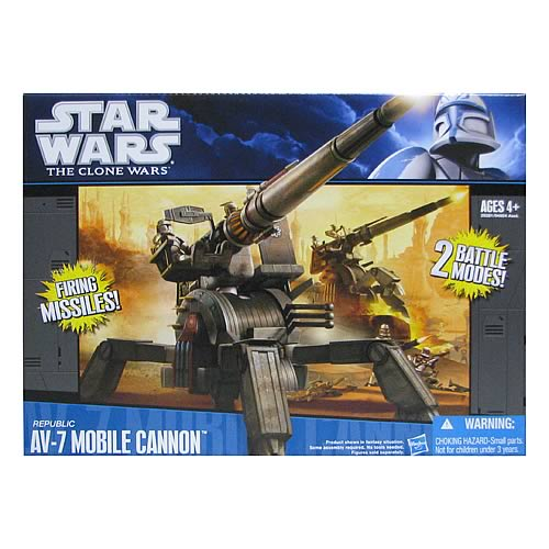 Star Wars Clone Wars Republic AV-7 Mobile Cannon Vehicle