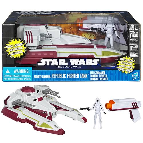 Star Wars Remote Control Republic Fighter Tank Vehicle