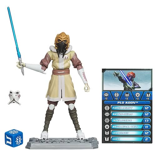 Star Wars Clone Wars Plo Koon in Cold Gear Action Figure