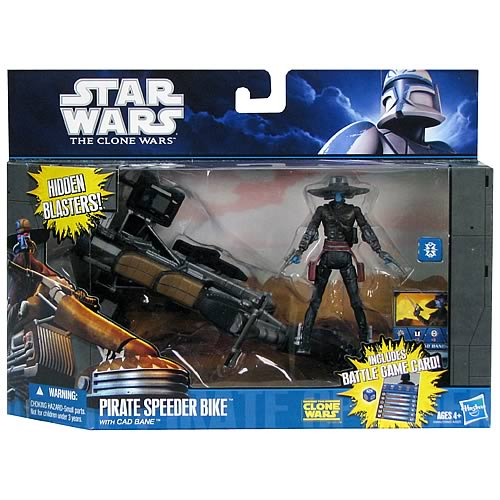 Star Wars Clone Wars Cad Bane and Pirate Speeder Bike