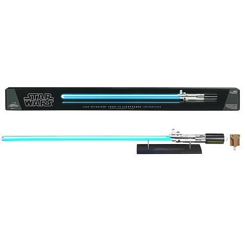 Star Wars Luke Skywalker Blue FX Removable Blade Lightsaber