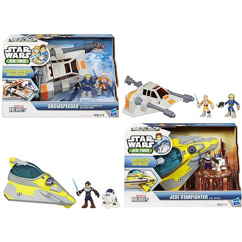 Star Wars Jedi Force Deluxe Vehicles Wave 1