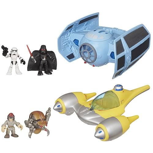 Star Wars Jedi Force Deluxe Vehicles Wave 2