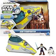 Star Wars Jedi Force Starfighter with Anakin and R2-D2