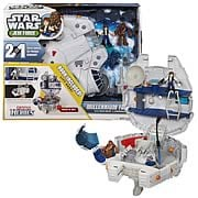 Star Wars Jedi Force Millennium Falcon Vehicle with Figures