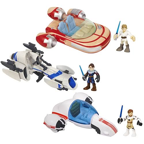 Star Wars Jedi Force Vehicles Wave 1