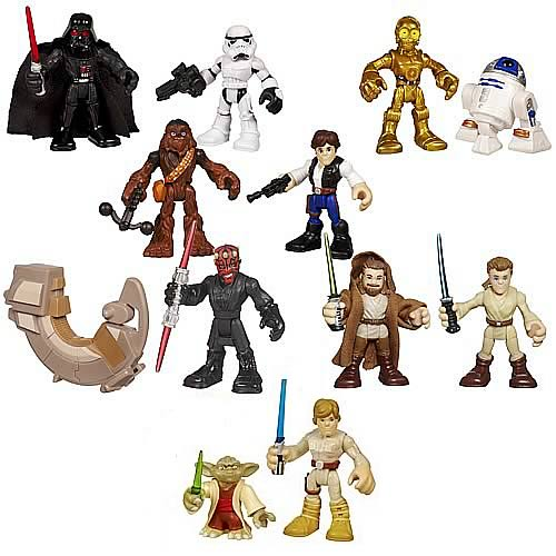 Star Wars Jedi Force Mini-Figure 2-Packs Wave 3