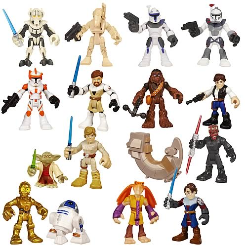 Star Wars Jedi Force Mini-Figure 2-Packs Wave 4
