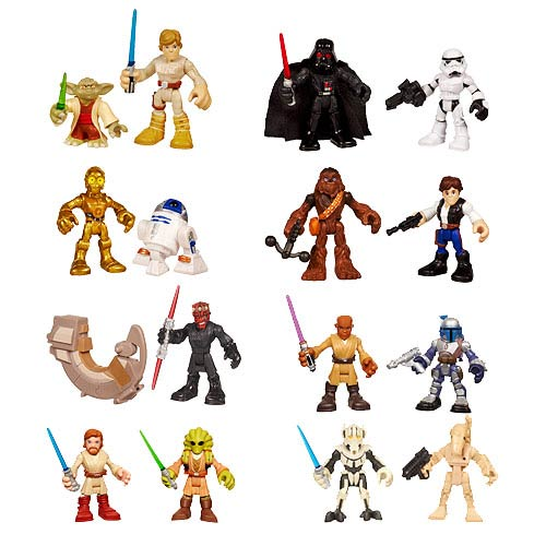 Star Wars Jedi Force Mini-Figure 2-Packs Wave 5
