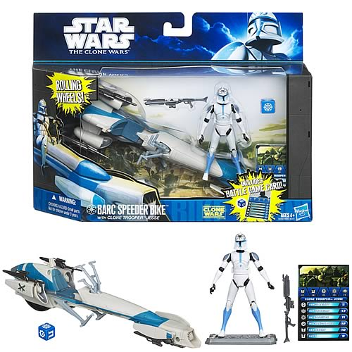 Star Wars Clone Wars Clone Trooper Jesse BARC Speeder Bike