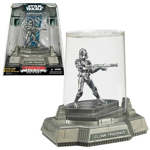 Star Wars Titanium Series Clone Trooper Patina Figure