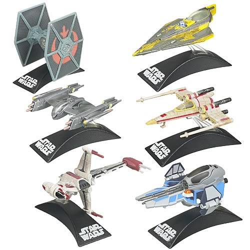 Star Wars Legacy Titanium Series Vehicles Wave 5