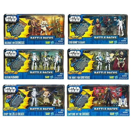Star Wars Battle Game Action Figure Battle Packs Wave 2