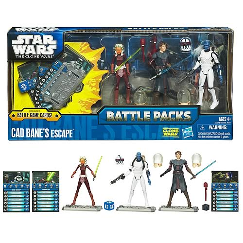 Star Wars Cad Bane's Escape Figure Battle Pack