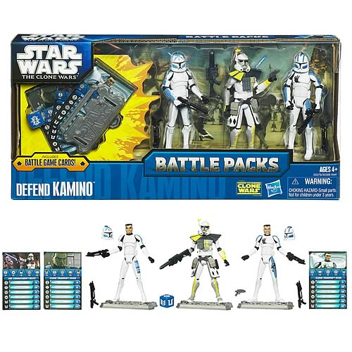 Star Wars Defend Kamino Action Figure Battle Pack