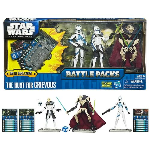 Star Wars Hunt for Grievous Action Figure Battle Pack