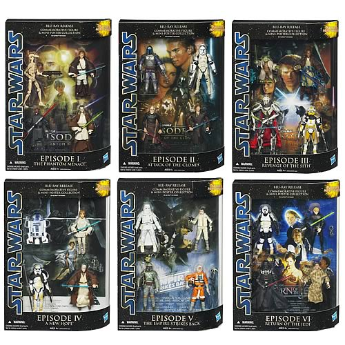 Star Wars Commemorative Collection Action Figures Wave 1 ...