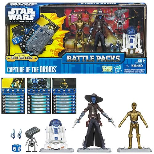 Star Wars Capture the Droids Action Figure Battle Pack