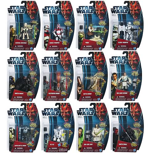 Star Wars Movie Heroes Action Figures Wave 1
