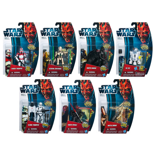 Star Wars Movie Heroes Action Figures Wave 3 Revision 1
