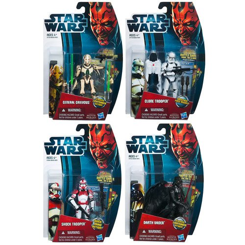 Star Wars Movie Heroes Action Figures Wave 3 Revision 2
