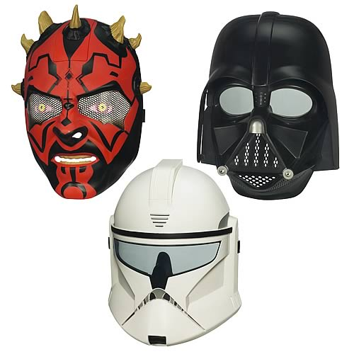 Star Wars 2012 Electronic Helmets Wave 1