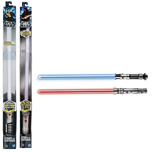 Star Wars Ultimate FX Lightsaber Darth Maul and Obi-Wan Set