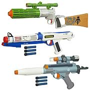 Star Wars Movie Electronic Blasters 2012 Wave 1