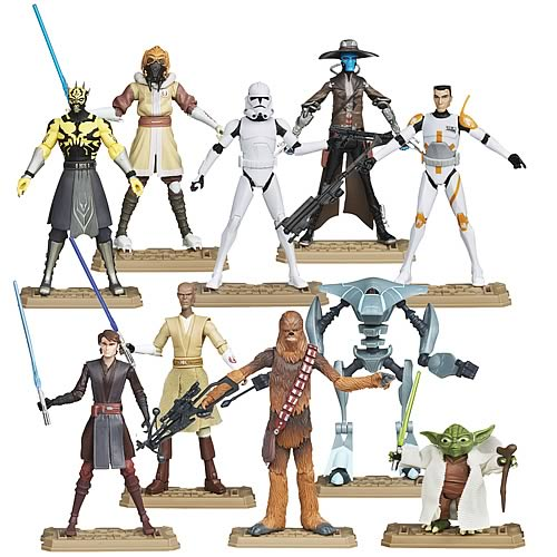 Star Wars Clone Wars 2012 Action Figures Wave 1