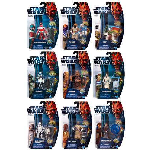Star Wars Clone Wars 2012 Action Figures Wave 4 Revision 1